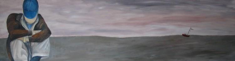 Duo schilderij van Sanne van den Dungen en Benno de Wit